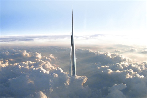 Kingdom-Tower-Above-Cloud