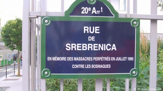 srebrenica ulica pariz