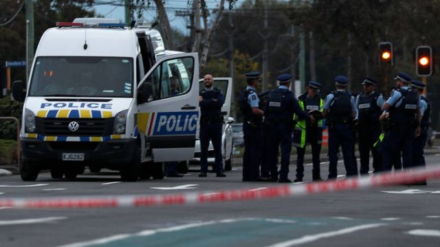 christchurch novi zeland policija reuters