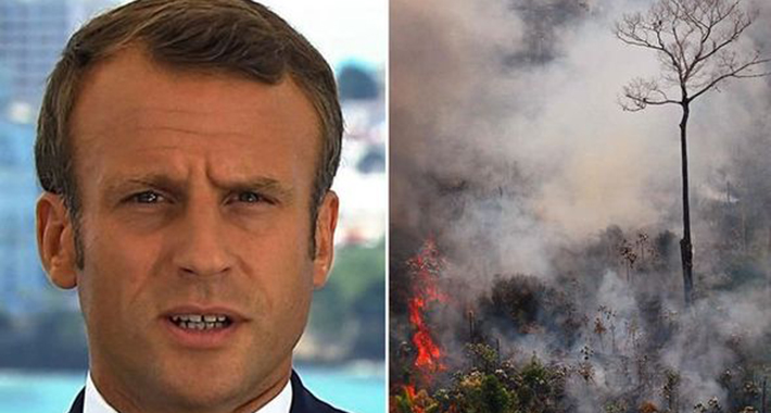 amazon rainforest fire emmanuel macron 1169739
