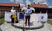 Brčko: U Brezovom Polju svečano otkriveno spomen obilježje šehidima, poginulim borcima i civilnim žrtvama rata