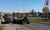 Brčko: U vožnji se otkačila prikolica od kamiona, vozač nije ni primjetio (FOTO)