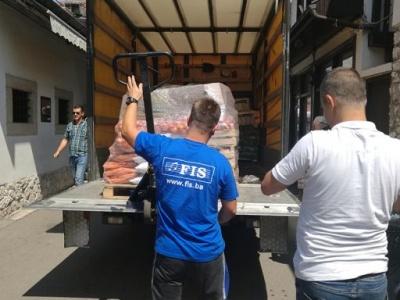FIS: Donacija prehrambenih artikala Narodnoj kuhinji