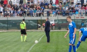 """FK """"Ilićka 01"""" zaigrao na svom terenu: Gradonačelnik izveo prvi udarac na utakmici"""