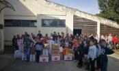 Učenici JU Sedme osnovne škole Brčko poklonima obradovali učenike u Srebrenici /FOTO/