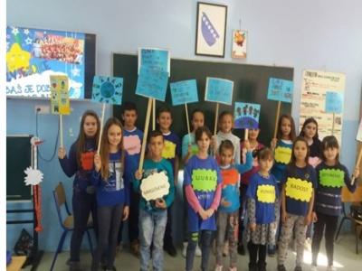 Druga OŠ Brčko - Međunarodni dan dječijih prava: Svako dijete treba da ima sretno djetinjstvo