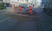Brčko: Radovi na proširenju ulice na Bulevaru mira u punom jeku