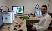 Brčak Haris Salkić u srijedu će u Sarajevu predstaviti prototip robotske ruke