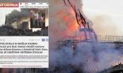 Francuski ambasador zgrožen pisanjem medija u Srbiji o požaru u Parizu