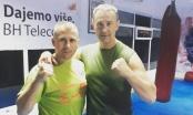"""Najbolji kick-bokser u istoriji BiH Zijo Poljo posjetio Klub borilačkih sportova """"Storm Gym"""" Brčko"""