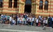 Gradonačelnik Milić organizovao prijem za mališane s Kosova i Metohije