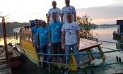 Šestočlana posada iz Brčkog rijekom Savom u pohodu na Beograd