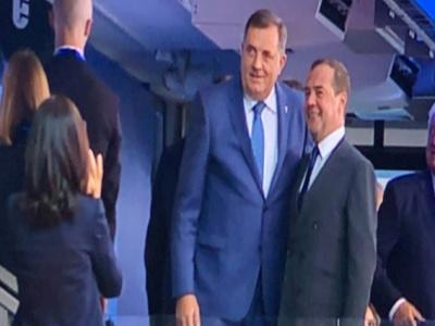 Bjelorusija: Dodik demonstrativno napustio svečanu ložu tokom defilea sportista s Kosova