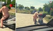 Policajci zaustavili golog muškarca na mopedu: Morao sam se rashladiti