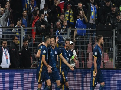 Navijači BiH u Grčkoj prepuni optimizma, vjeruju u ubjedljivu pobjedu Zmajeva