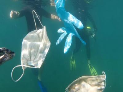Nova prijetnja za prirodu: Morima i okeanima već plutaju zaštitne maske i rukavice