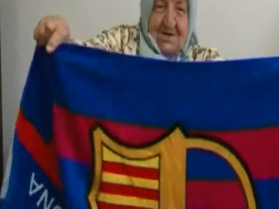 BiH: S 87 godina strastvena navijačica i zaljubljenica u fudbal i boks (VIDEO)