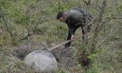 Velika kamena kugla pronađena kod Srebrenice