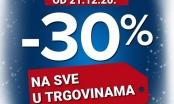 PLANET OBUĆA BRČKO – VELIKA PRAZNIČNA AKCIJA -30% POPUST NA SVE, OD 21.12.2020.