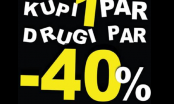 """""""PLANET OBUĆA""""  -AKCIJA KUPI JEDAN PAR, DRUGI PAR -40% POPUSTA OD 20.11.2020. GODINE"""