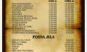 """Etno restoran """"Kolubara"""" vrši dostavu hrane na adresu"""