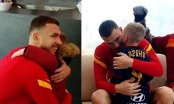 Pogledajte kako je izgledao emotivni susret Džeke i malog navijača Rome (VIDEO)