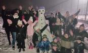 Brčaci napravili ovogodišnji prvi snješko, mnoge podsjetilo na druženje i pravljenje snješka visokog 5m na Trgu