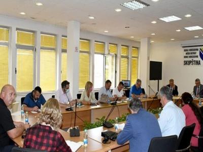 Utvrđen dnevni red za 14. redovnu sjednicu Skupštine Brčko distrikta BiH
