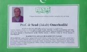 U 57. godini preminuo Prof. dr. Sead Omerhodžić