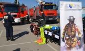 Brčko: Predstavljeno novo vatrogasno vozilo i oprema Civilne zaštite i spasilačkog tima